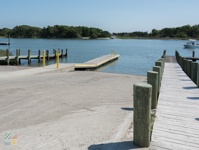 Downtown Beaufort boat ramp