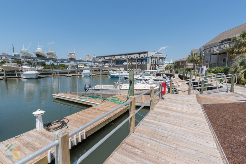 There are several marinas in Beaufort
