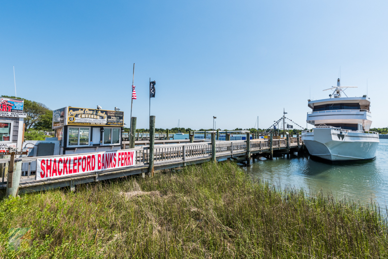 Many types of boat tours are available in Beaufort