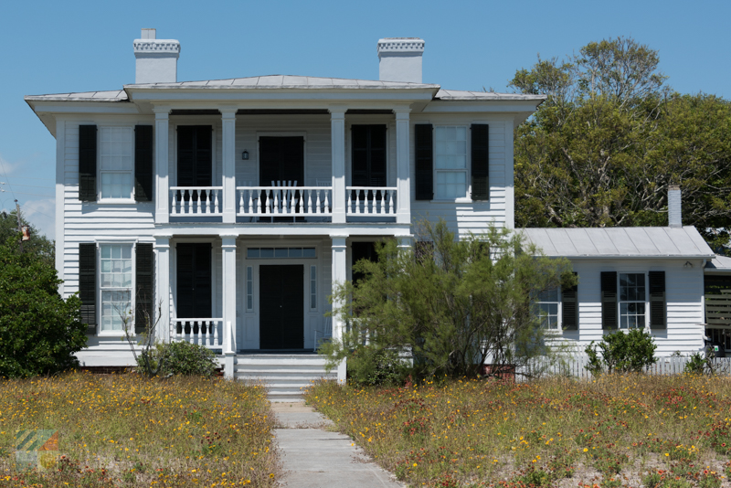A historic home in Beaufort NC