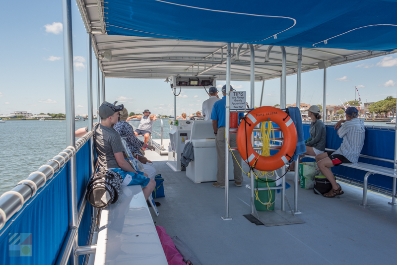 Beaufort offers many types of boat tour