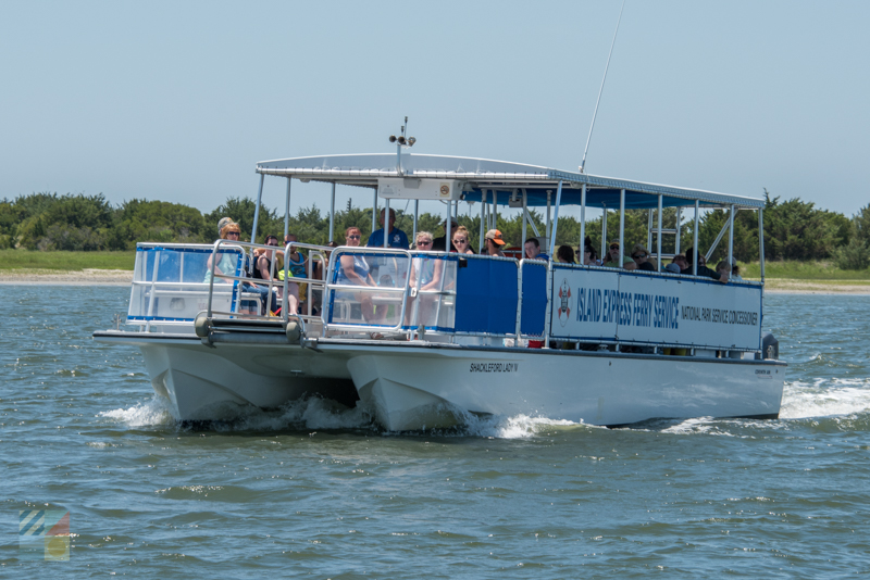 Boat tours out of downtown Beaufort