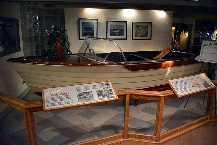 A display in the North Carolina Maritime Museum