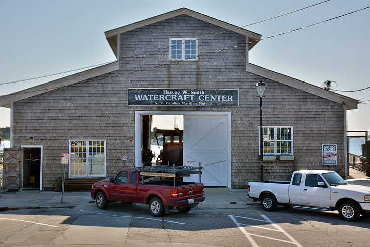 Harvey W. Smith Watercraft Center in Beaufort NC