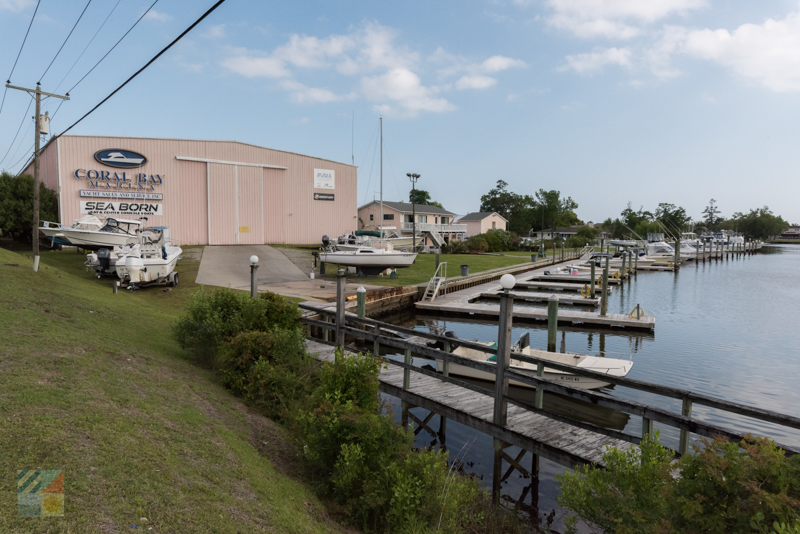 There are dozens of marinas and sales centers nearby