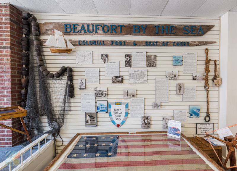 Beaufort Historic Site information center