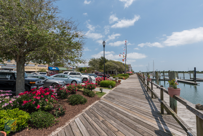 Downtown docks at Beaufort NC