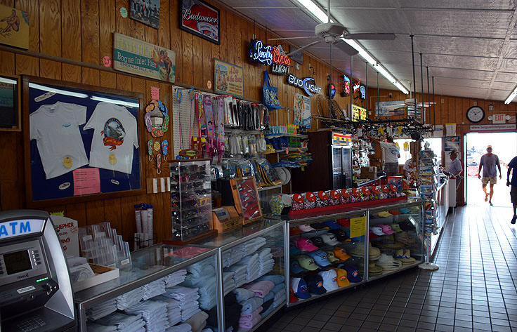 Store at Bogue Inlet Fishing Pier