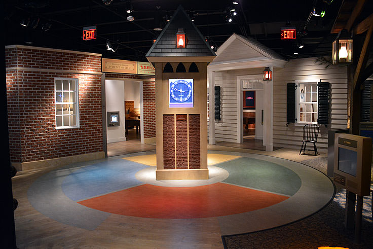 Exhibits in the North Carolina History Center