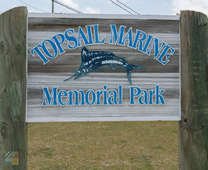 Topsail Marine Memorial Park in Beaufort NC