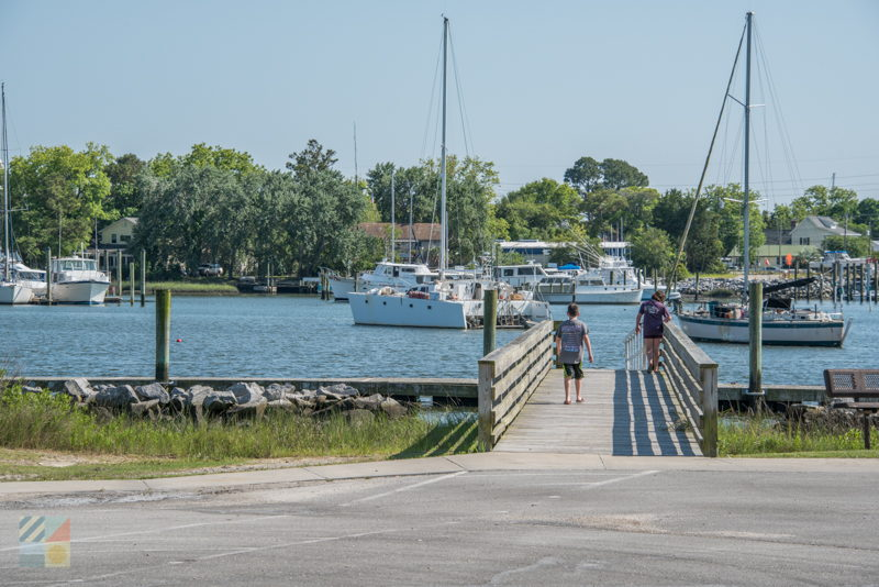 Fishermen's Park in Beaufort NC