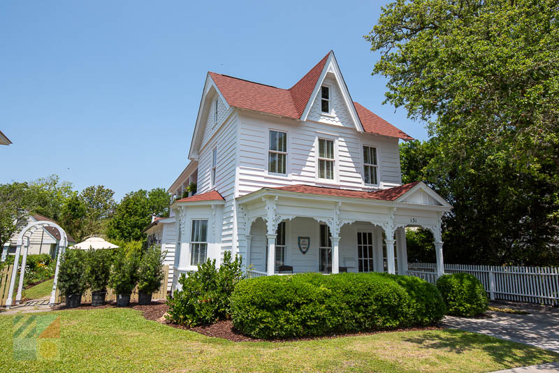 An historic home in Beaufort NC