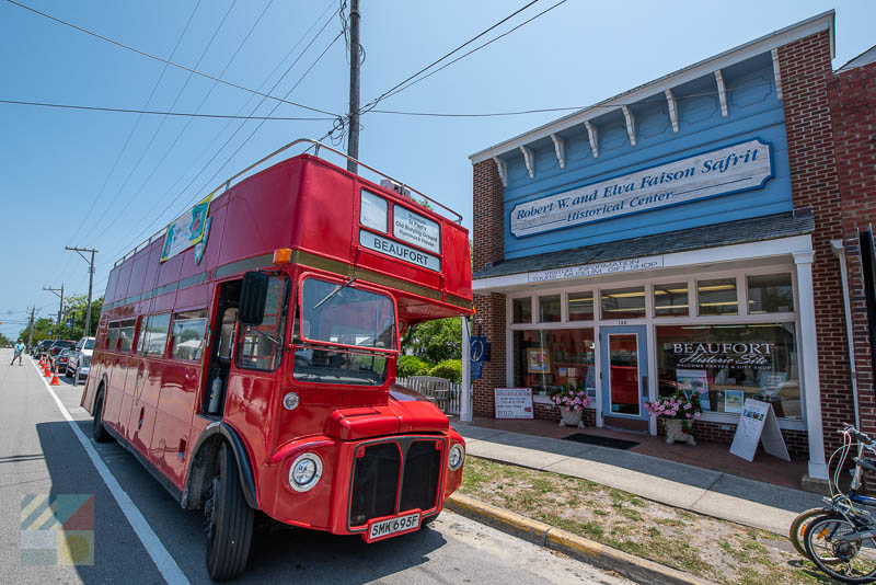 Beaufort Historic Society bus tour